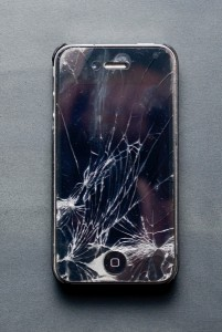 8712032-broken-iphone